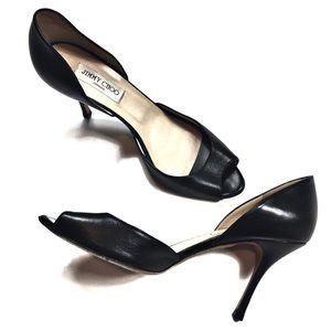 Jimmy Choo Size 41 (11) Black High Heels